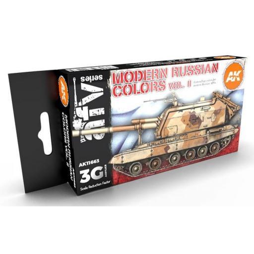 Set Colores 3G Vehículos Rusos Modernos - Vol 2
