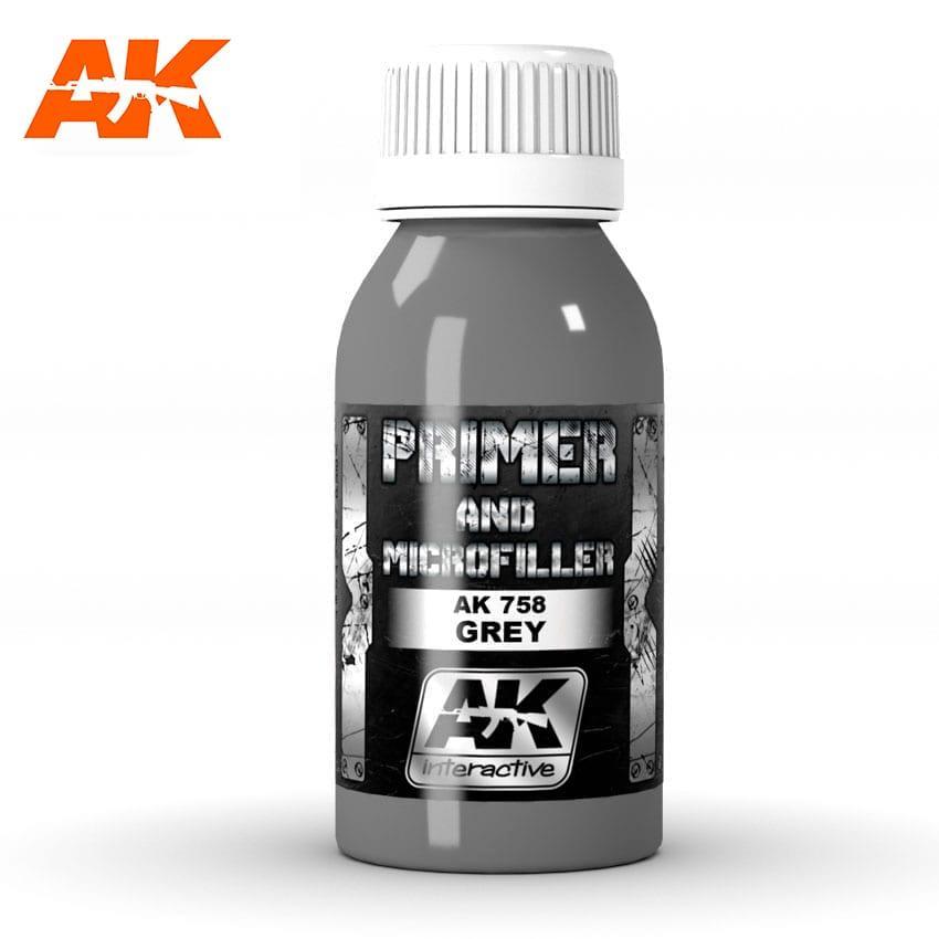 Grey Primer And Microfiller 100 Ml