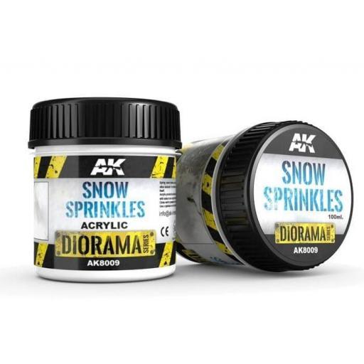 Snow Sprinkles - 100ml. (Acrylic)