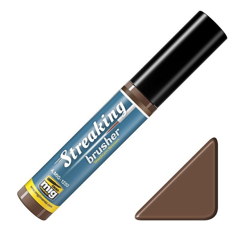 Streaking Brusher Medium Brown