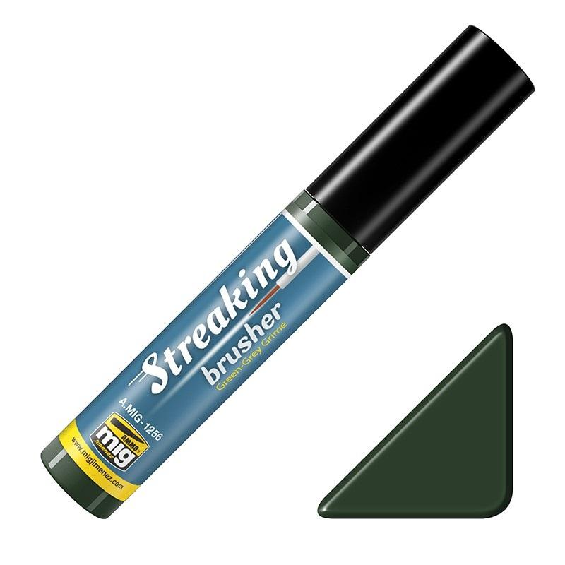 Streaking Brusher Green-grey grime