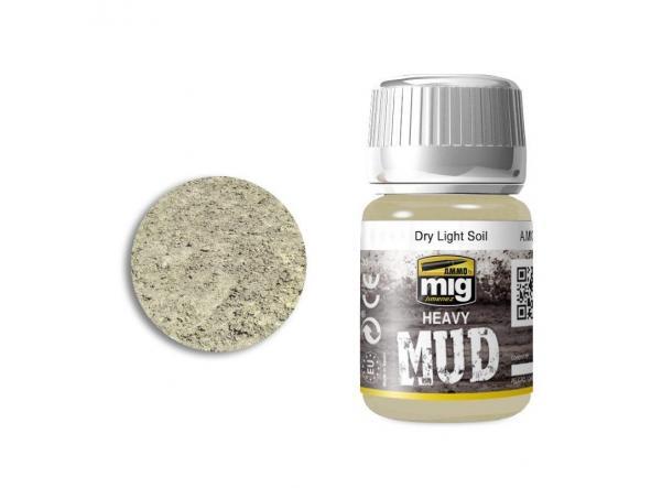 Dry Light Soil - Enamel Heavy Mud Texture