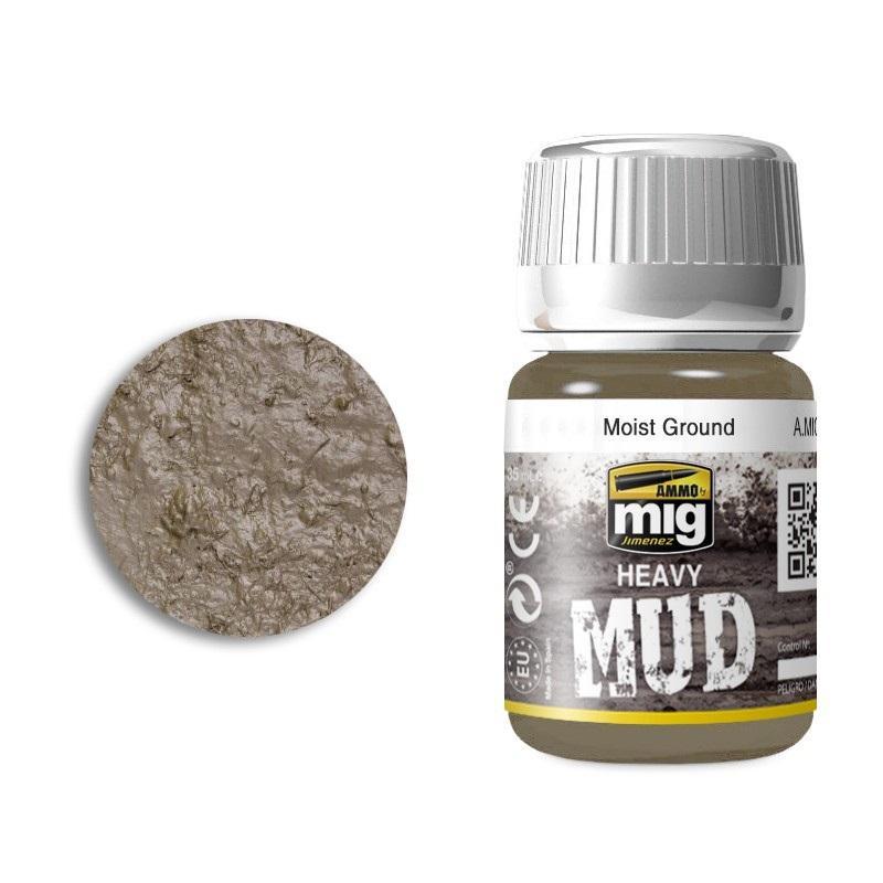Moist Ground - Enamel Heavy Mud Texture