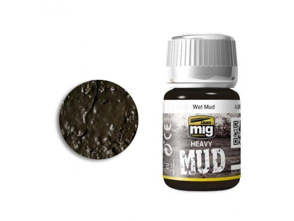 Wet Mud - Enamel Heavy Mud Texture
