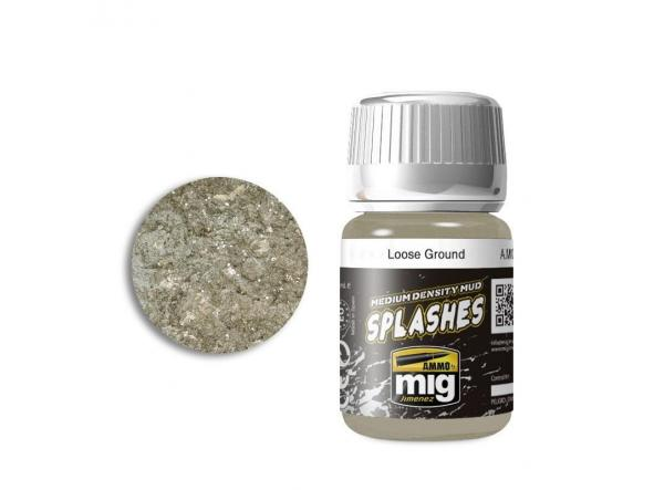 Loose Ground - Enamel Splashes & Medium Density Mud Texture