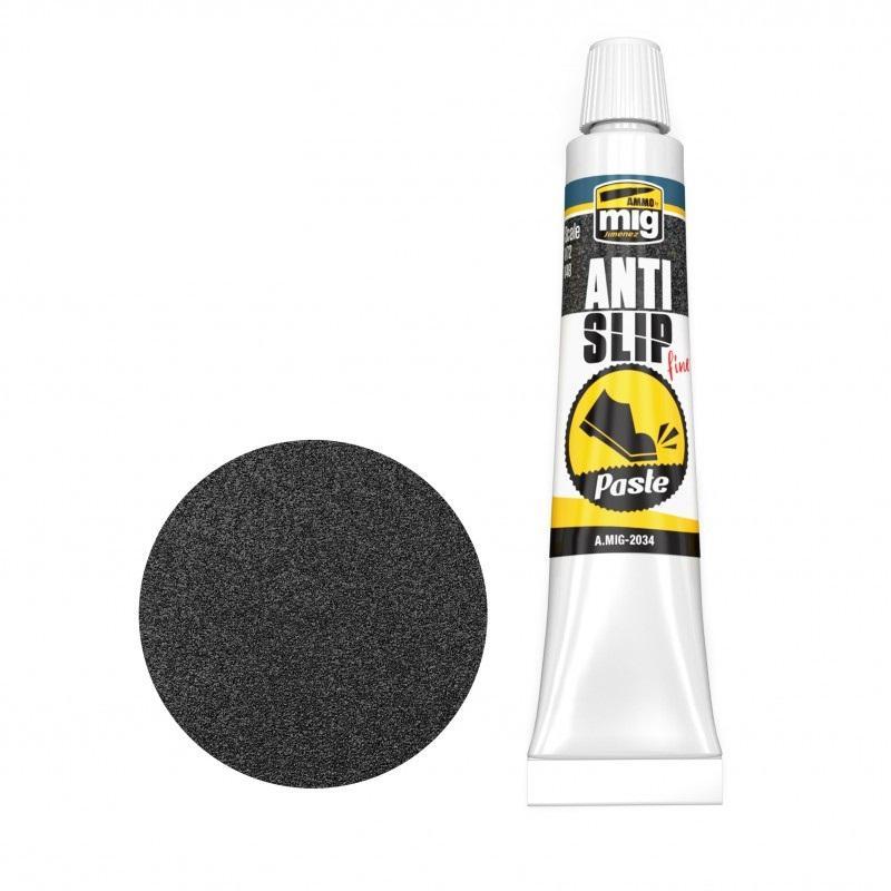 Anti-Slip Paste - Black Color For 1/72 & 1/48