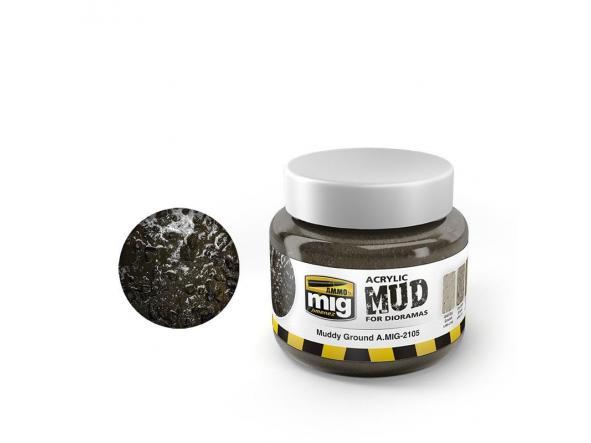 Muddy Ground - Acrylic Mud (250 Ml. Jars)