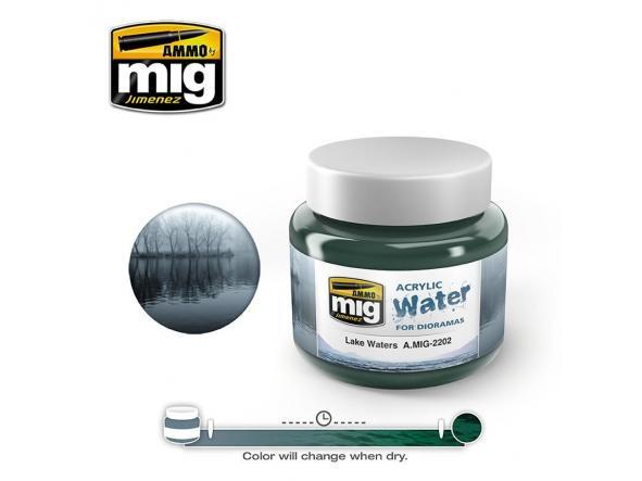 Lake Waters - Acrylic Water (250 Ml. Jars) [1]