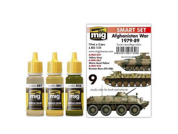 Acrylic Smart Set -  Afghanistan War 1979-1989