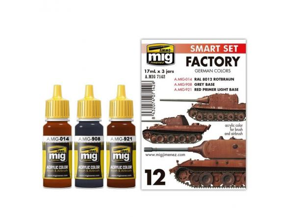 Acrylic Smart Set -  German Out Of Factory Colors