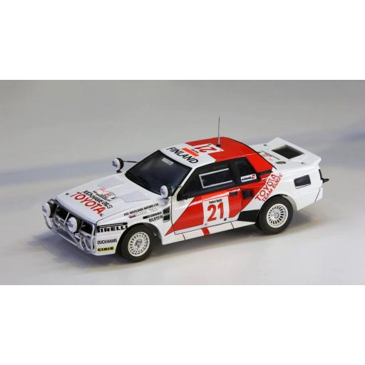 1/24 Toyota TA64 Celica `85 safari Rally Winner