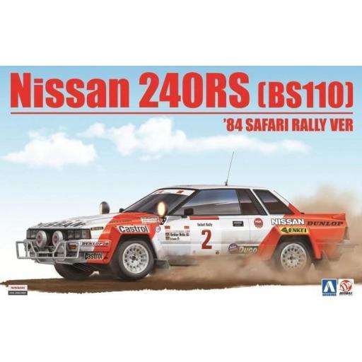 1/24 Nissan 240RS Bs110 1984 Safari Rally