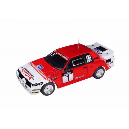 1/24 Toyota TA64 Celica '85 Haspengouw Rally
