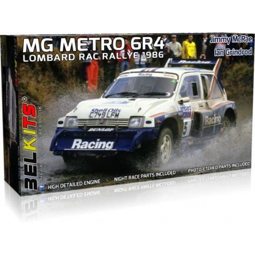 1/24 MG Metro 6R4 - Lomard RAC Rallye 1986