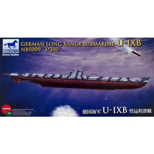 1/350 German Long Range Submarine U-Ixb