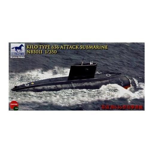 1/350 Kilo Type 636 Attack Submarine
