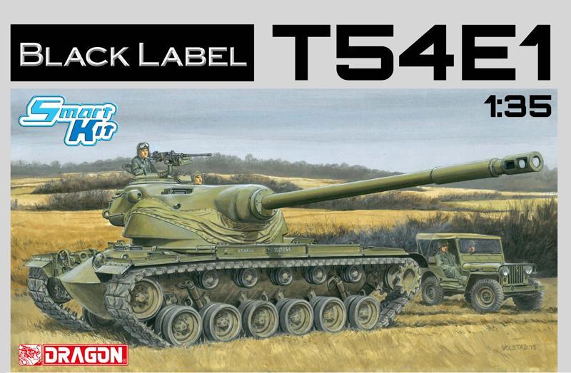 1/35 T54E1. Black Label Smart Kit