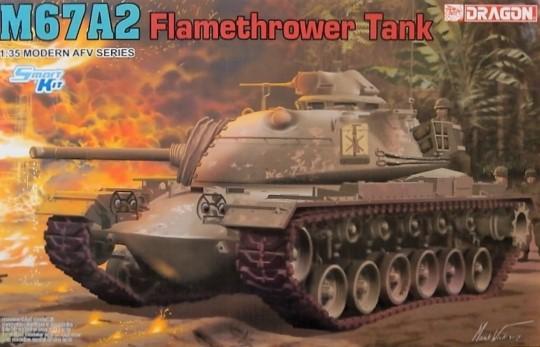 1/35 M67A2 Flamethrower Tank. Smart Kit