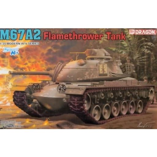 1/35 M67A2 Flamethrower Tank. Smart Kit