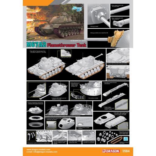 1/35 M67A2 Flamethrower Tank. Smart Kit [1]