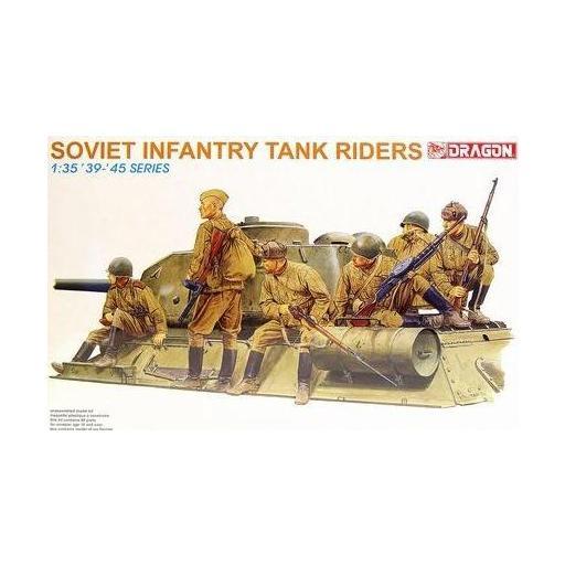 1/35 Soviet Infantry Tank Riders