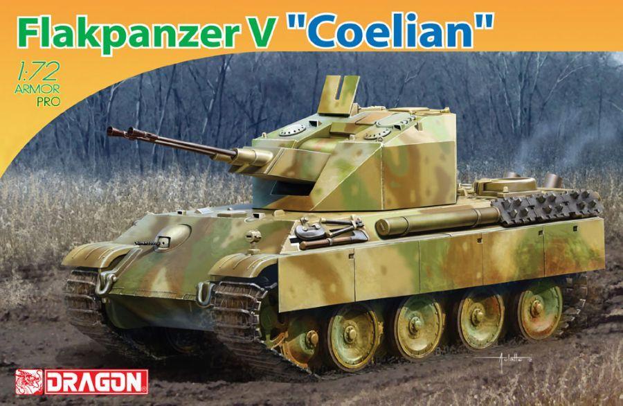 1/72 Prototipo Tanque Flakpanzer V Coelian