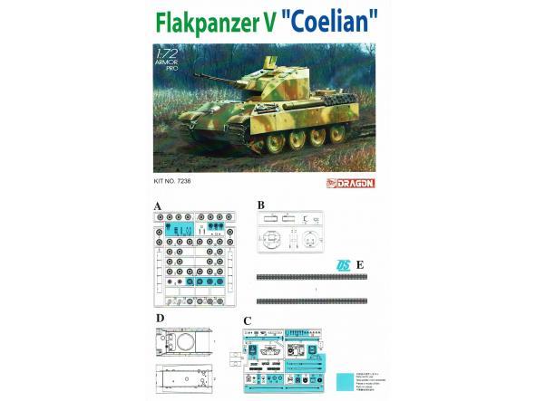 1/72 Prototipo Tanque Flakpanzer V Coelian [1]