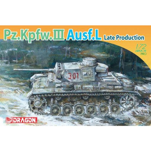 1/72 Pz.Kpfw.III Ausf. L Late Production