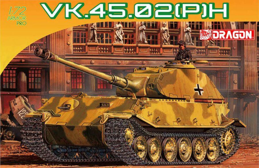 1/72 Tanque Alemán VK.45.02 (P) H