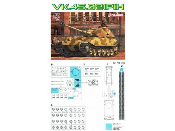 1/72 Tanque Alemán VK.45.02 (P) H [3]