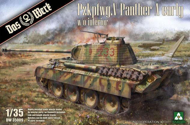 1/35 Pzkpfwg. V Panther Ausf.A Early