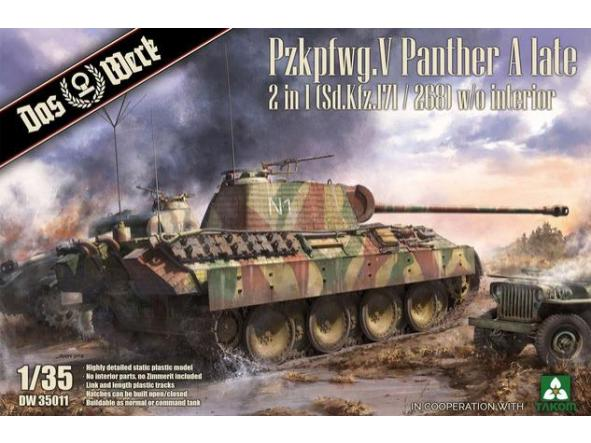 1/35 Pzkpfwg. V Panther Ausf.A Late 2 in 1 [0]