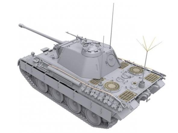 1/35 Pzkpfwg. V Panther Ausf.A Late 2 in 1 [3]