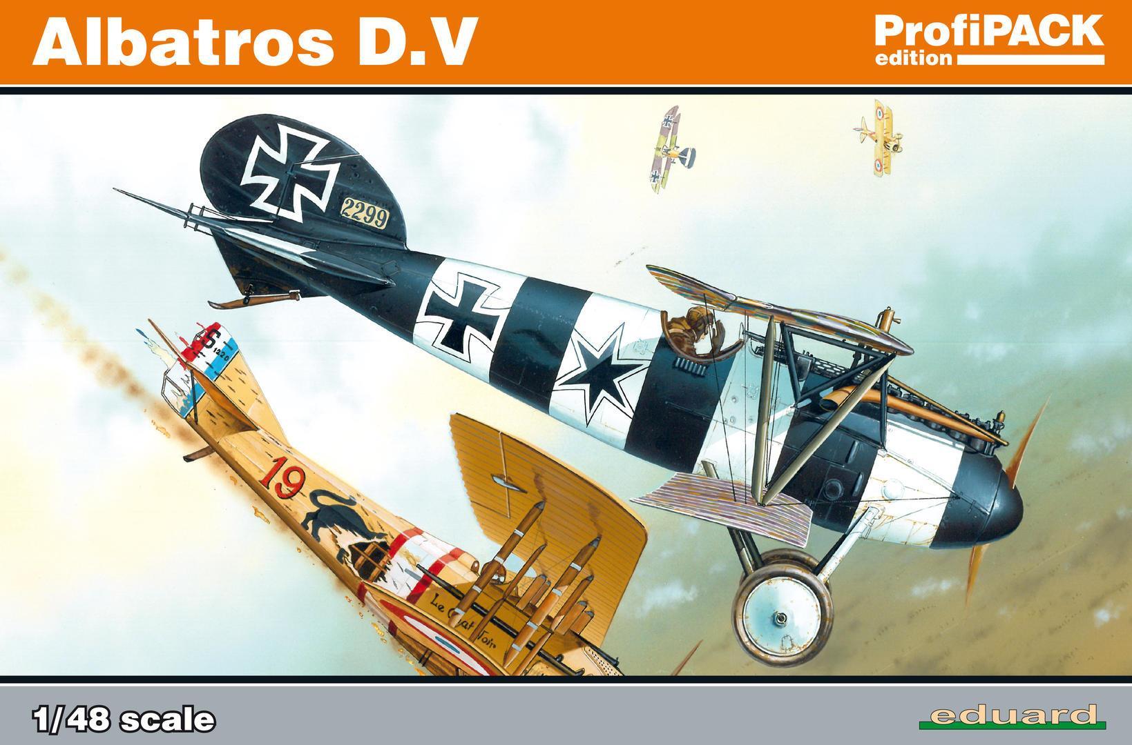 1/48 Albatros D.V. Profipack Edition