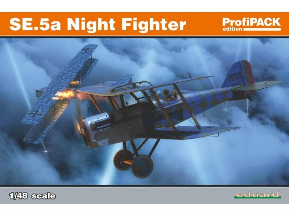 1/48 SE.5a Night Fighter. Profipack Edition