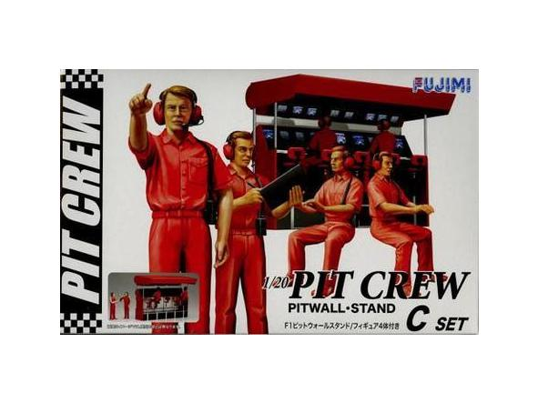 1/20 Pit Crew Set C - Pitwall Stand