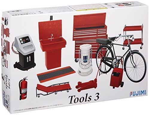 1/24 Tools 3-  Kit Herramientas Taller