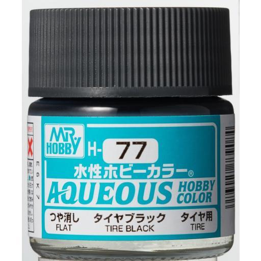Hobby Color H-77 Negro neumático