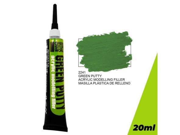 Acrylic Green Putty 20 ml.
