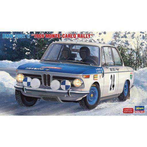1/24 BMW  2002 ti  - Rally Montecarlo 1969