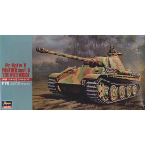 1/72 Pz.Kpfw V Panther Ausf. G Ruedas de Acero