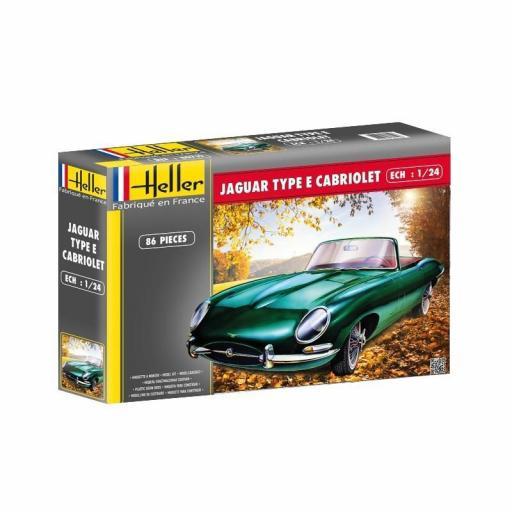 1:24 Jaguar Type E Cabrio