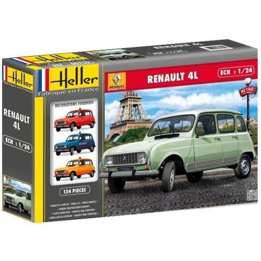1/24 Renault 4L