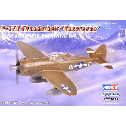 1/72 P-47D Thunderbolt Razorback