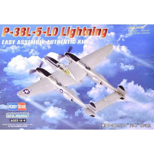 1/72 P-38L-5-LO Lightning