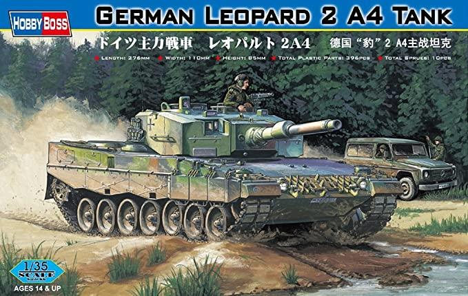 1/35 German Leopard 2 A4 Tank
