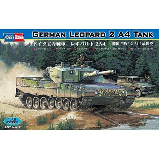 1/35 German Leopard 2 A4 Tank  [0]
