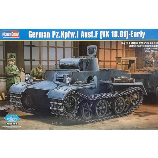 1/35 German PzKpfw.I Ausf.F (VK18.01)-Early