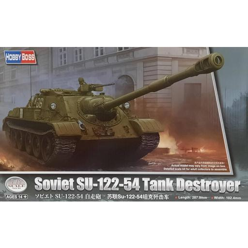 1/35 Soviet SU-122-54 Tank Destroyer
