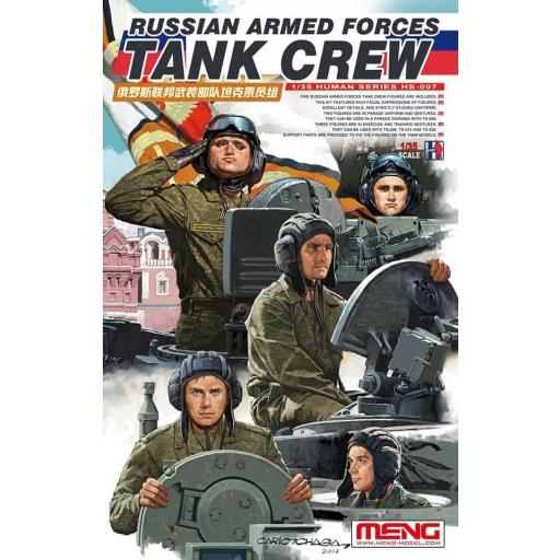 1/35 Russian Armed Forces Tank Crew